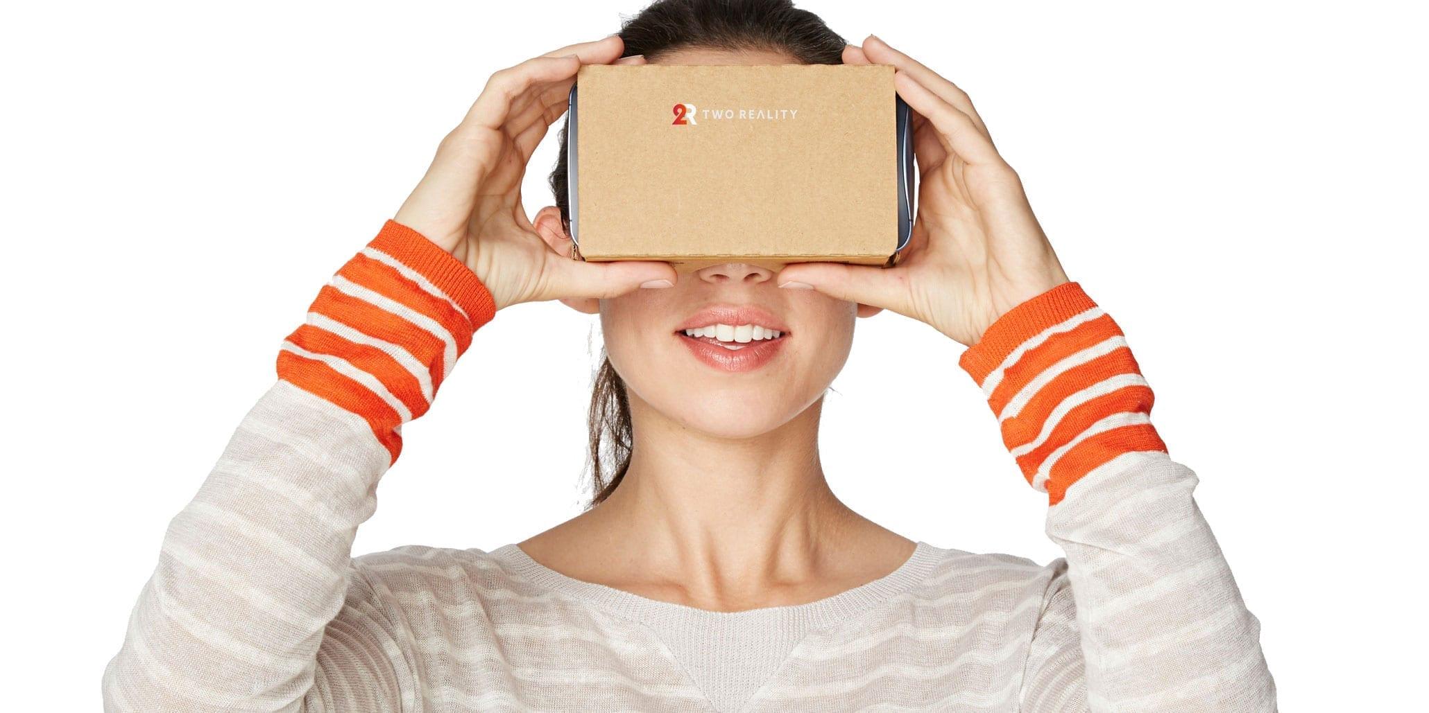 cardboard realidad virtual tworeality