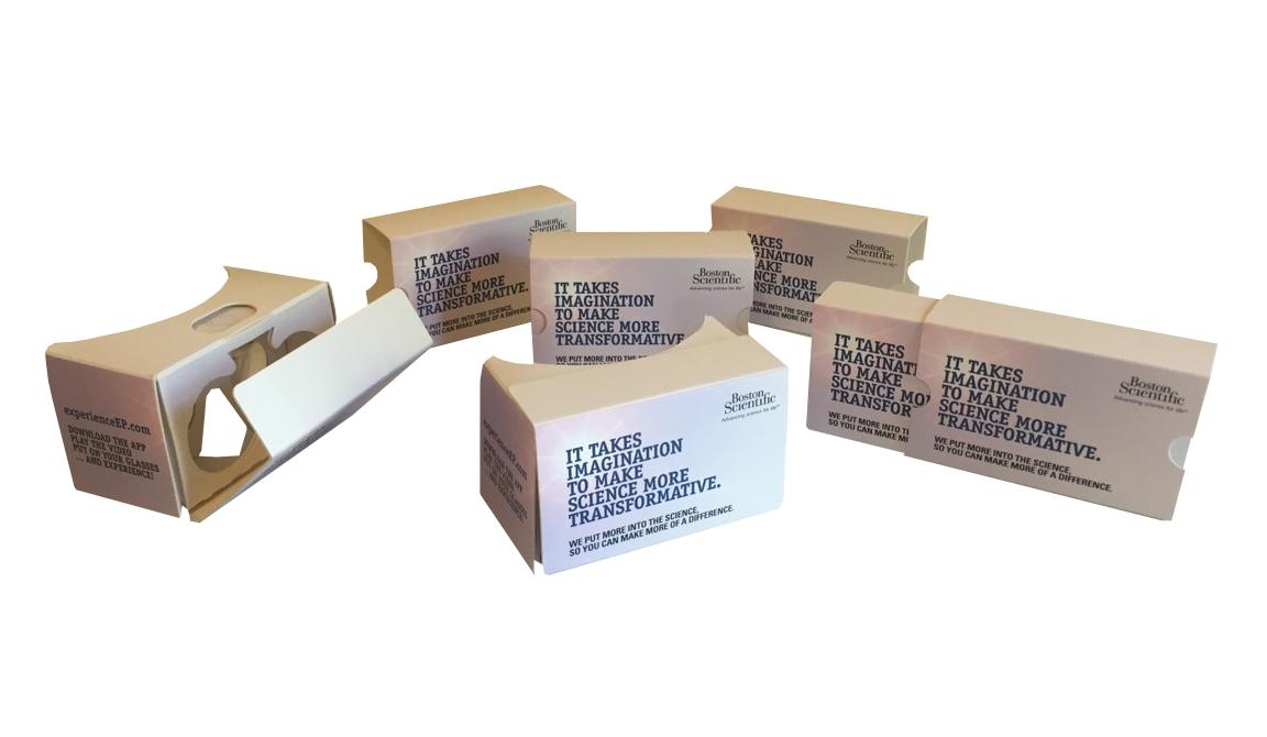 video 360 cardboard gafas virtuales