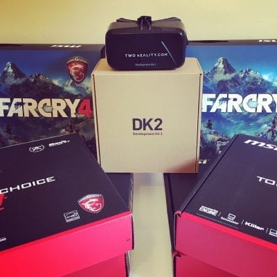 comprar kit realidad virtual oculus dk2