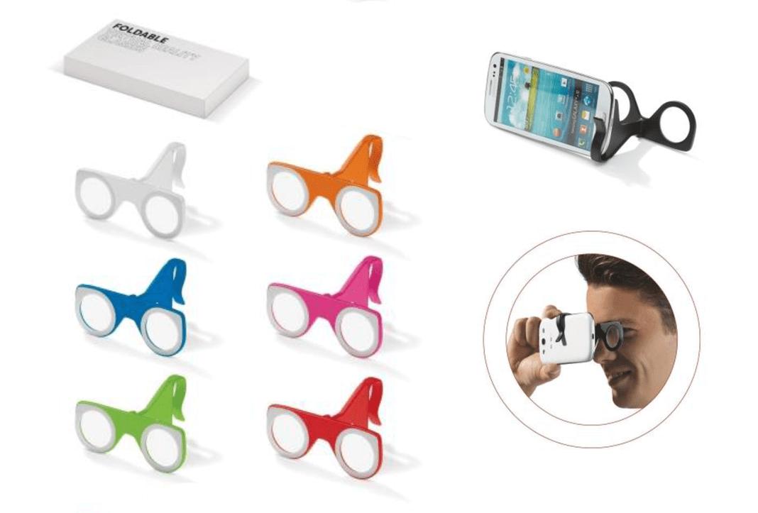 mini mini cardboard gafas virtuales