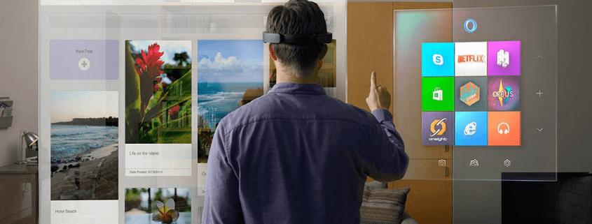 Realidad aumentada inversion gafas virtuales