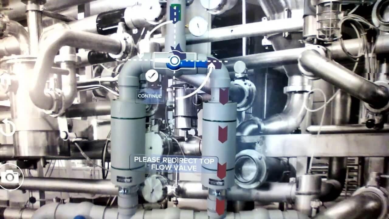 Simulaciones de entrenamiento con realidad aumentada en industria
