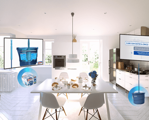 Spontex Virtual Reality App
