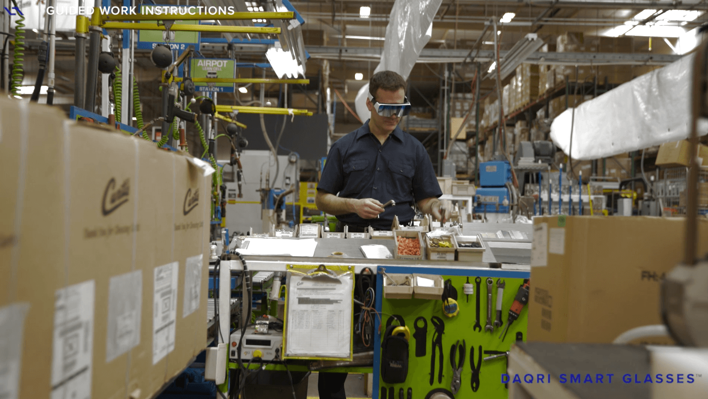 Realidad Aumentada: industria 4.0