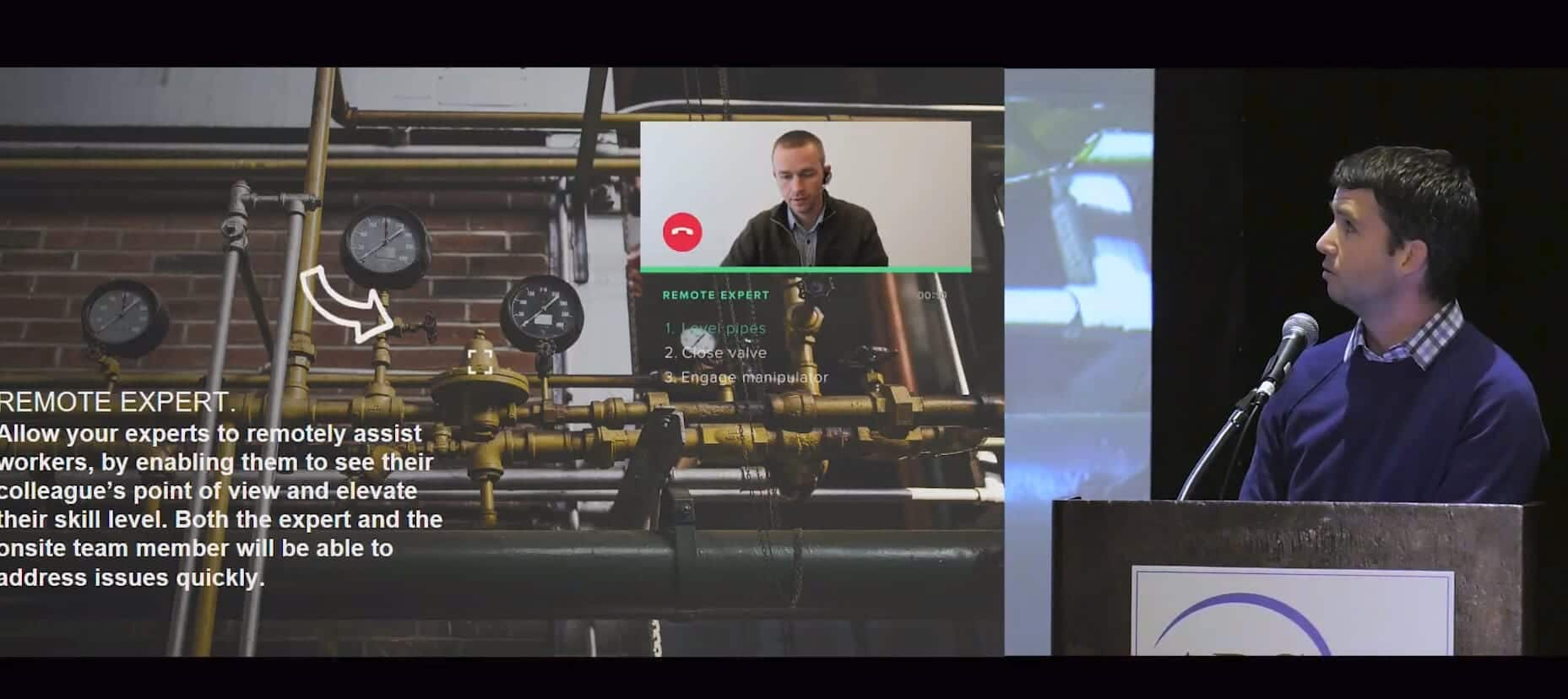 realidad aumentada industria 4.0 asistencia en remoto Daqri