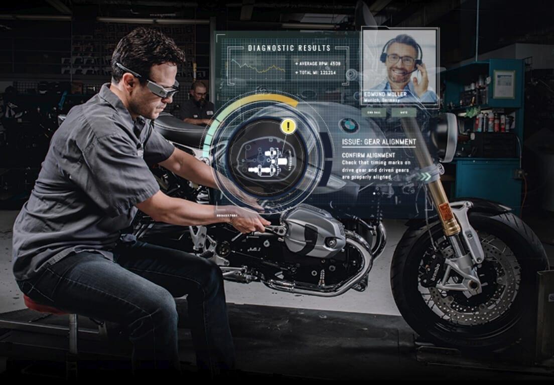 realidad aumentada industria 4.0 asistencia en remoto