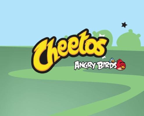Juego en realidad aumentada Angry Birds Cheetos