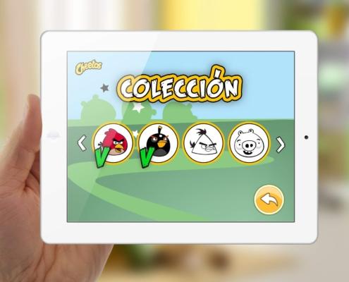 Juego en realidad aumentada Angry Birds