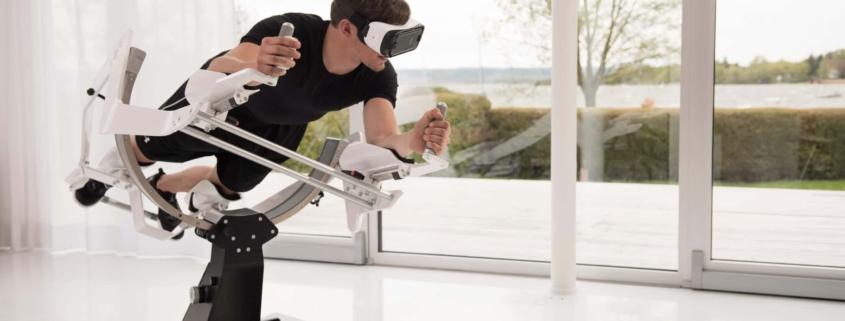 Plataforma Simulador Icaros realidad virtual
