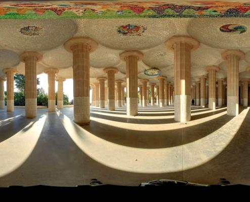 Realidad Virtual vídeo 360 park guell