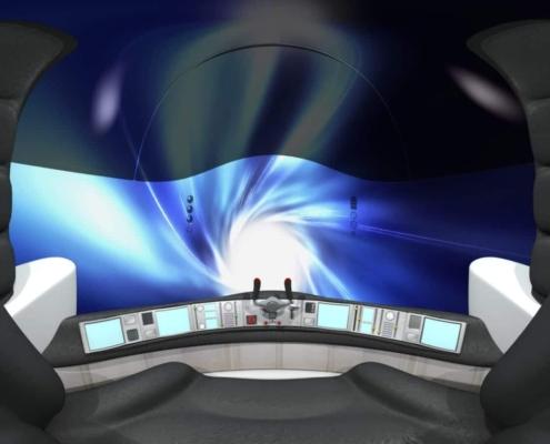 Realidad Virtual 360 animación 3D