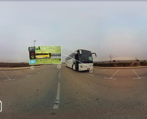 Realidad Virtual Interactiva - video 360 Mercedes Daimler