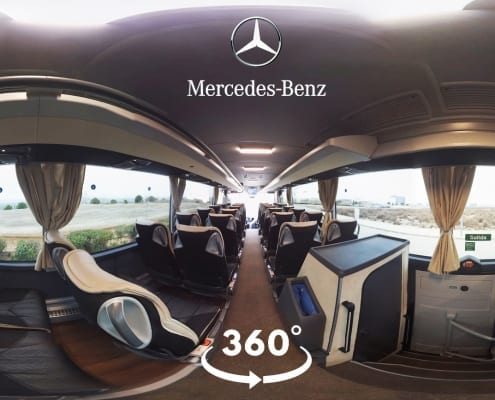 Interactive Virtual Reality - 360 video Mercedes Daimler