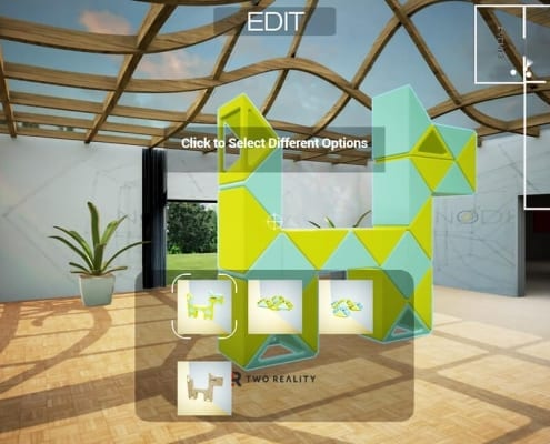 Event configurator in Virtual Reality