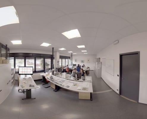 Video 360 para empresa - oficinas