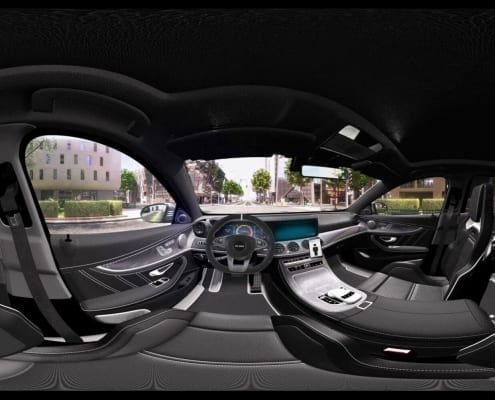 Virtual reality 360 automotive experience