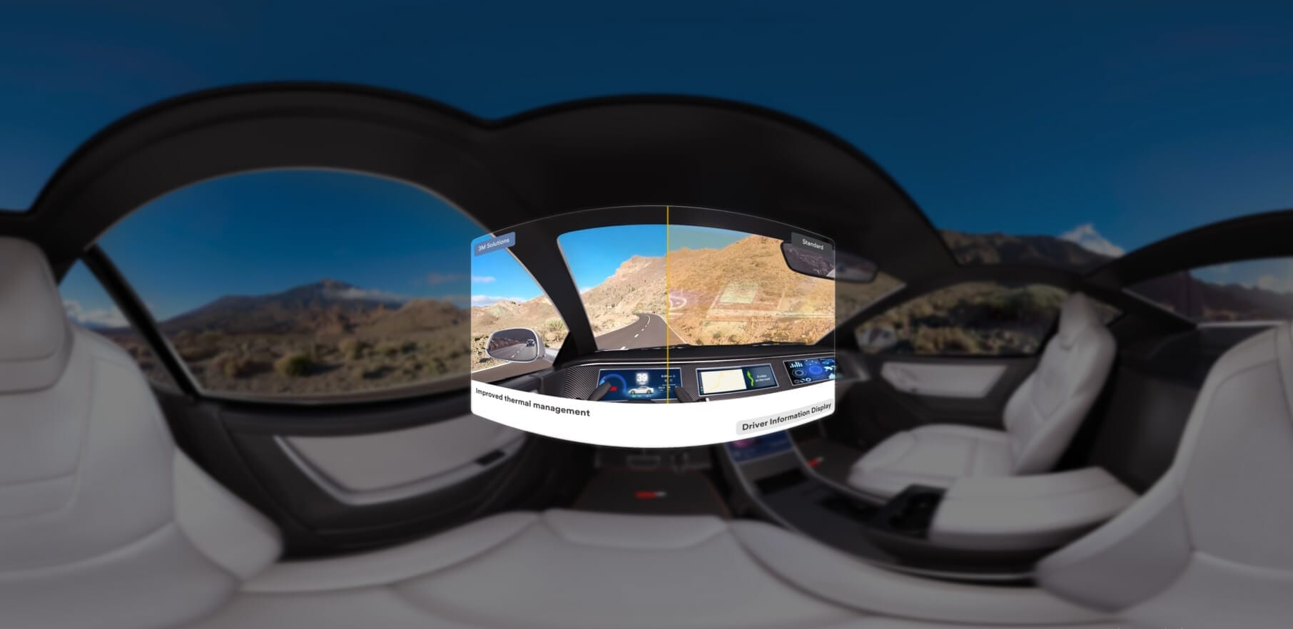 virtual reality driving simulator