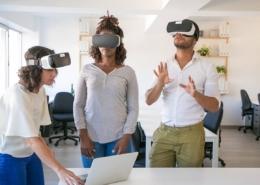 teletrabajo en realidad virtual