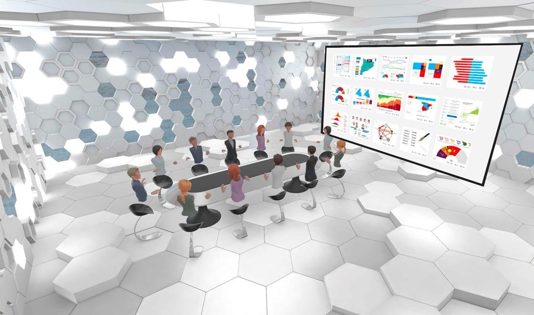 Realidad virtual sector financiero
